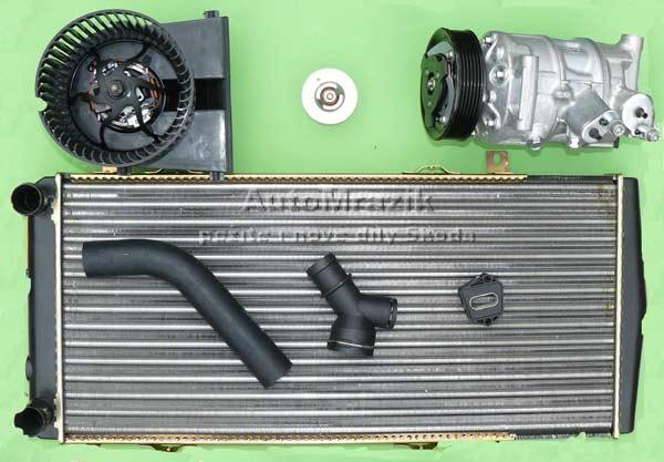 Chlazení - Klimatizace - Topení - Škoda 105,120,130