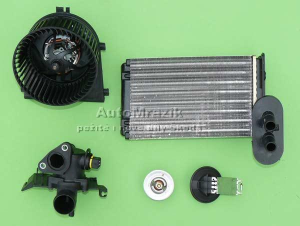 Chlazení - Klimatizace - Topení - Topení Škoda 105,120,130
