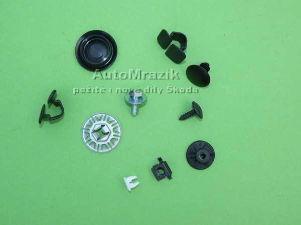 Doplňky - výbava - náplně - spotřební materiál Škoda Fabia 2