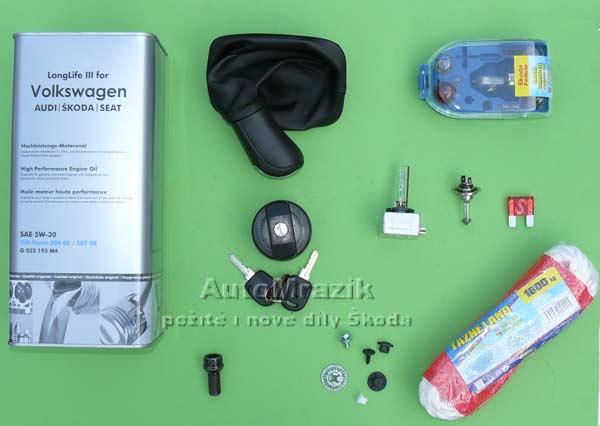 Doplňky - výbava - náplně Škoda 105,120,130