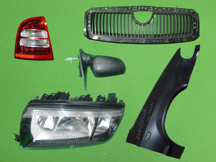 Karoserie - Světla - Škoda Octavia 2