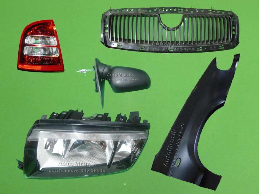 Karoserie - Světla - Škoda 105,120,130