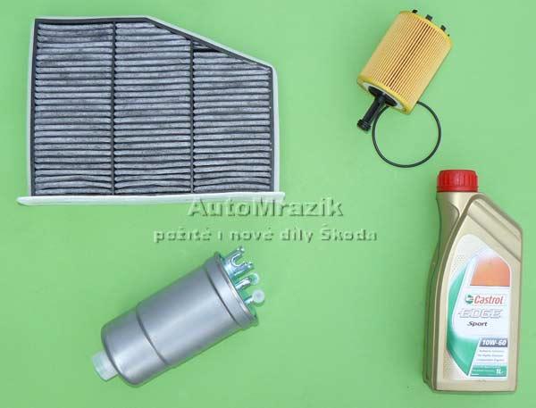 Motor a Převodovka - Filtr, olej Škoda Fabia 2