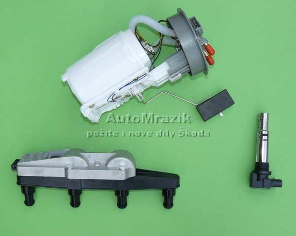 Motor a Převodovka - Palivo - zapalování - žhavení  Škoda 105,120,130