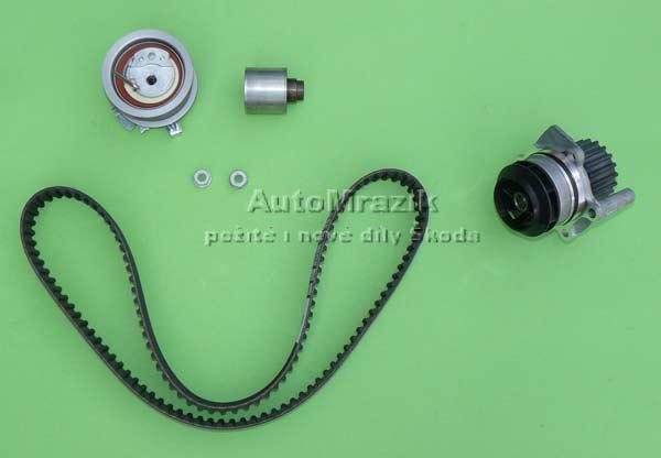 Motor a Převodovka - Rozvody, pumpa Škoda Fabia 2