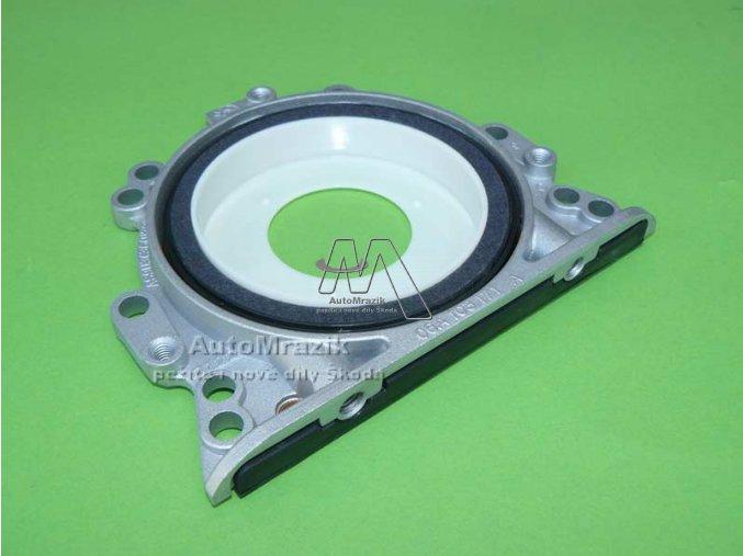 automrazik 06A103171A Simering, těsnící příruba pro blokt Octavia Fabia I, II, Ocavia I, II, Roomster diesel