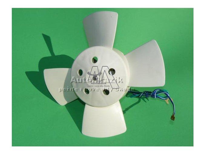 Ventilátor, větrák chladiče Š 105, 120, 130