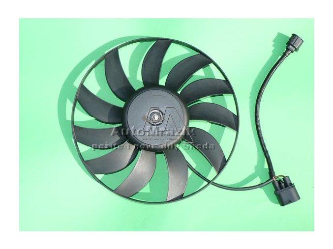 Ventilátor, větrák chladiče Octavia II 360mm