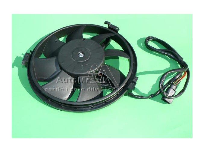Ventilátor, větrák chladiče Superb malý 280mm