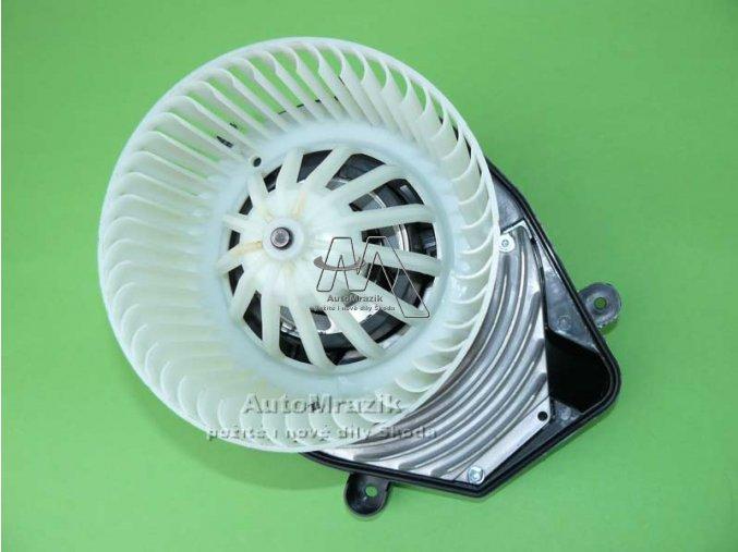automrazik 8D1820021B Ventilátor, větrák + motor topení Superb