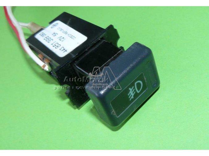 automrazik 115939002 Spínač, ovladač přední mlhovky Favorit černý 1