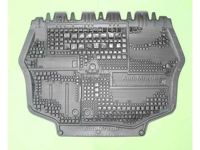 Kryt pod motor střední Octavia II, Superb II, Yeti