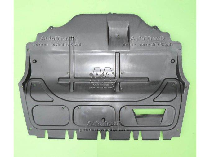 Kryt pod motor střední Fabia I, II, III, Roomster benzin velký