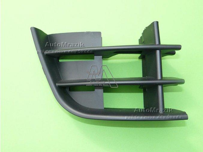 Mřížka, krytka předního nárazníku pravá Fabia II, Roomster 2011-