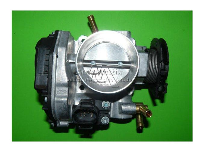 Škrtící klapka motoru Octavia 2.0 85kW + tempomat