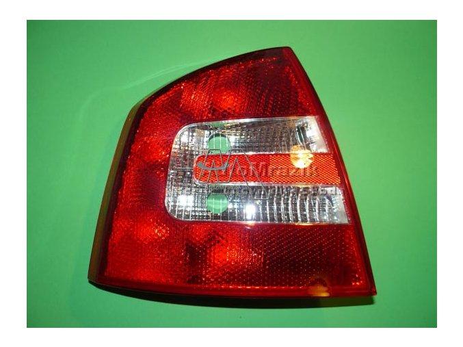 Zadní světlomet, lampa  Octavia II 2004- sedan levá