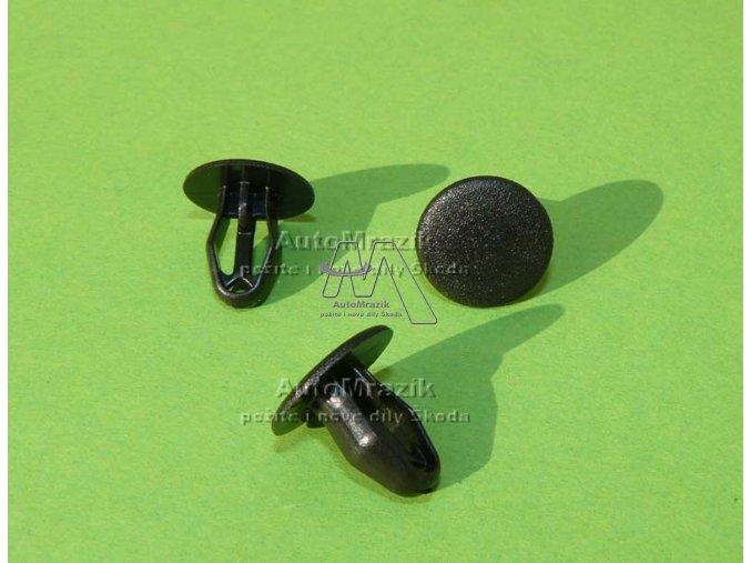 automrazik 5J0819055A Příchytka pro vnitřní kryt zadního víka, nadkolí .. Fabia II, Roomster, Superb II, Rapid