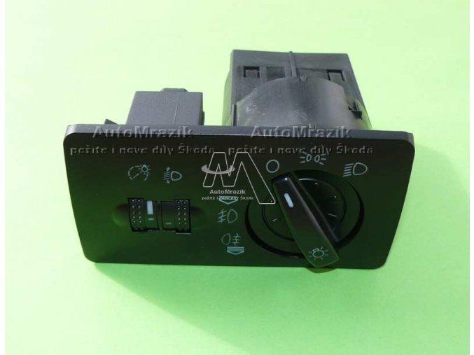 automrazik 6Y1941531H Spínač, ovladač světel Fabia + přední mlhovky + naklápění