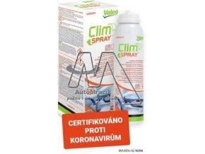 Čistič klimatizace Valeo Clim spray  - 125ml