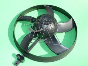 Ventilátor, větrák chladiče Fabia 290mm prošroubovaný Fabia I, II, III, Roomster, Rapid