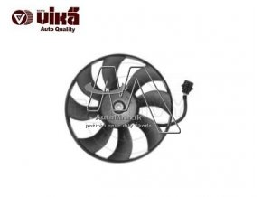 Ventilátor, větrák chladiče Fabia I, II, Roomster 385mm