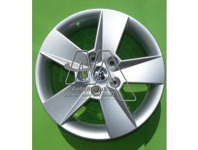automrazik 5E0071496D Alu kolo, hliníkový disk ILIAS 6,5Jx16 , ET 46 Škoda Octavia III