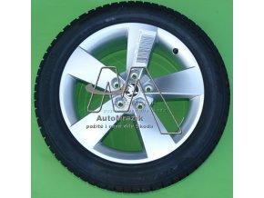 automrazik 57A071497C Alu kolo, hliníkový disk RATIKON 7,0J x 17 ET 45 + zimní pneu Pirelli SottoZero 3 21555 R17 Škoda Karoq