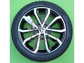 automrazik 5E0071496 Alu kolo, hliníkový disk HAWK 7,0J × 17 ET49 + zimní pneu Pirelli SottoZero 3 22545 R17 91H Škoda Octavia III