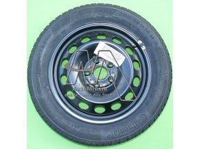 automrazik Plechový disk 6Jx16 ET 48 + zimní pneu Continental TS 860 20555 R16 91H Škoda Octavia II, III