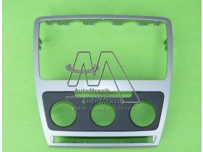 automrazik 1Z08580699DQ Krycí rámeček ovladačů a rádia Škoda Octavia II vozy s manuální klimatizací