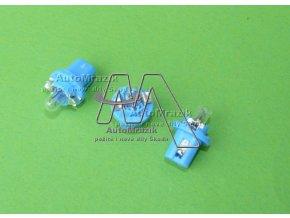 automrazik 1U0919062A Žárovka do přístrojové desky, budíků modrá patice 1.2W 12V Škoda Felicia