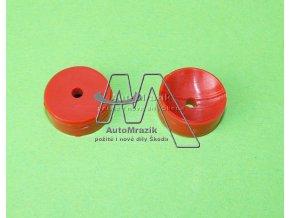 automrazik 114506250 Pánev tyče hřebenového řízení, vložka Škoda 105 M, 120 M, 130 M, Favorit červená