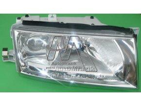Přední světlo, světlomet, lampa pravá Octavia 2000- s mlhovkou + motorek
