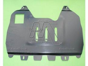 Kryt pod motor střední plech Octavia II, Superb II, Yeti