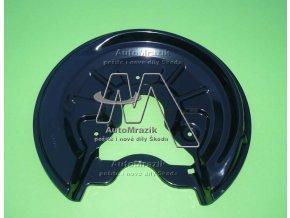 automrazik 1K0615612AB Štít, krycí plech zadní brzda pravý Octavia II, Superb II