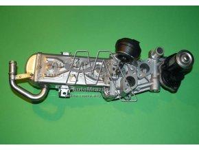 EGR ventil,chladič zpětného vedení spalin Octavia II, Superb II, Yeti common rail