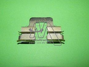 Vymezovací meziplech pro zadní destičky Octavia II, Superb II, Yeti