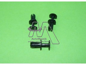 automrazik N90536901 Plastový čep, nýt pro nárazník, masku, panel okna 5x11