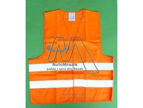 automrazik 000100100 Výstražná reflexní vesta oranžová