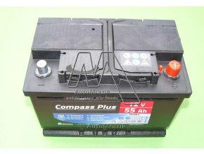 automrazik CPAM27562 Autobaterie 12V 55Ah EN 420A