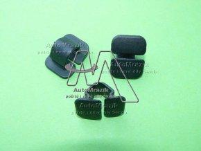 automrazik 8E0863727A Plastová spona pro uchycení odhlučnění ( koberce ) kapoty