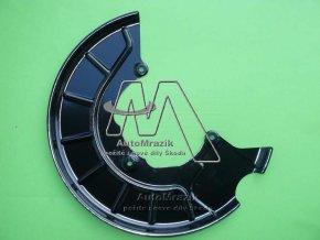 automrazik 1K0615311F Štít, krycí plech přední brzda levý Octavia II, Superb II, Yeti