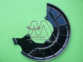 automrazik 1K0615312F Štít, krycí plech přední brzda pravý Octavia II, Superb II, Yeti