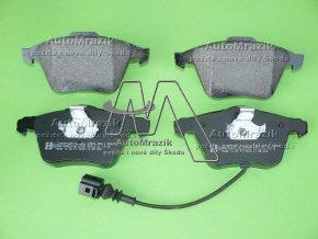 automrazik 1K0698151B Brzdové destičky přední Superb II pro kotouč 345x30mm