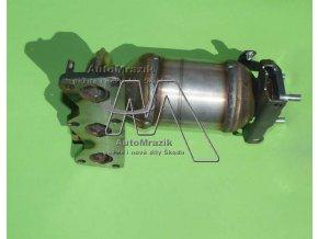 automrazik 03D253020H Katalyzátor + sběrné výfukové potrubí Fabia I, II 1.2 HTP kulaté otvory 1