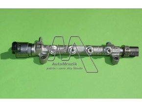 automrazik 04L130089G Rozdělovač paliva, čidlo tlaku, ventil ragulátoru tlaku paliva Škoda Octavia III, Superb III, Rapid, Yeti 1.6, 2.0 TDi CR
