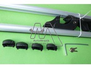 automrazik 000100111 Střešní nosič, příčníky pro hagusy uzamykatelné hliníkové 120 135cm 1