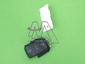 automrazik 1J0959753DA Dálkové ovládání, ovladač pro centrální zamykání Fabia I, II, Roomster, Superb