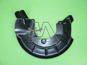 automrazik 6R0615311 Štít, krycí plech přední brzda levý Fabia I, II, Roomster, Rapid, CITIGO