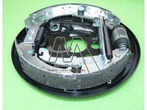 automrazik 1J0609425 Držák čelistí, štít plechový zadní buben Octavia I, Roomster kompletní levý 2